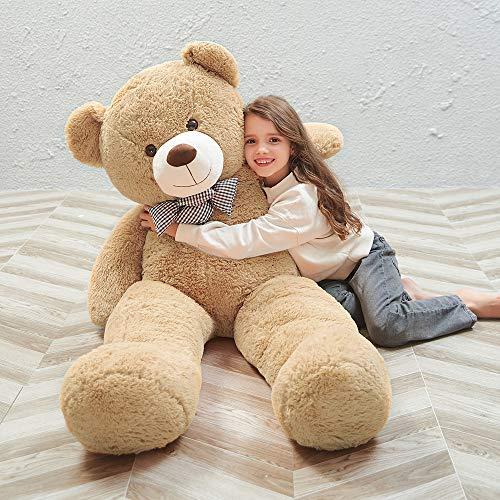 MaoGoLan Giant Teddy Bear Big Stuffed Animals Plush Soft Giant Stuffed Bear for Girls Girlfriend