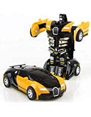 Transformation Robot car toy deformation Bugatti Veyron car Model For Kids - EB16