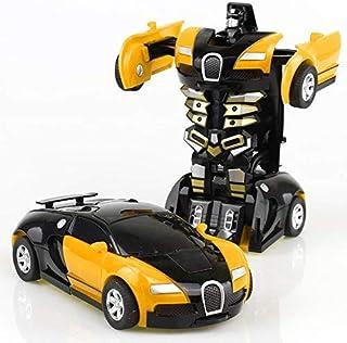 Transformation Robot car toy deformation Bugatti Veyron car Model For Kids - EB16
