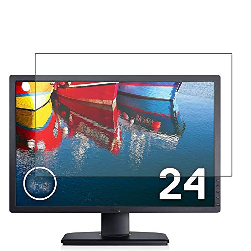 """Vaxson 3 Unidades Protector de Pantalla, compatible con Dell Monitor U2412M 24"""" [No Vidrio Templado] TPU Película Protectora"""