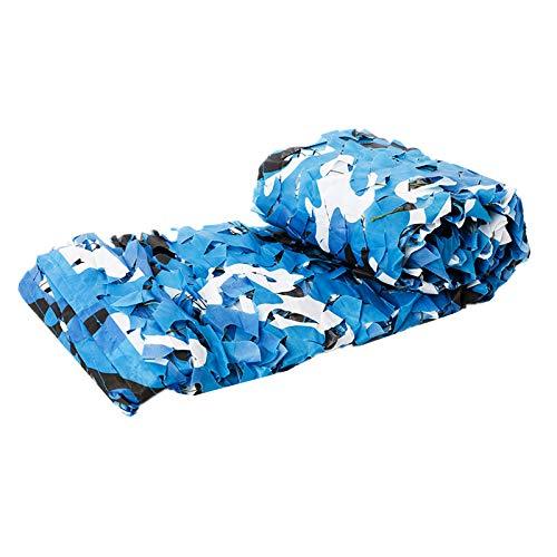 XDRE Parasol Coche Redes de Camuflaje Reforzado 2x2m 2x3m 2x5m Hunting Military Camo Netting Sun Shelter Outdoor Garden Toldo Cubiertas de Coches Tienda Sombra Cortina de Malla para Coche