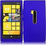 For Nokia Lumia 920 Silicone Jelly Skin Cover Case Blue Accessory