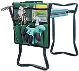 Portable Garden Kneeler Seat Gardening Bags Gardening Tote Garden Tools Bags Pouch Gardeners Bench Kneeling Bag Gardeners Workseats Storage Bag Gardening Hand Tools Storage Organizer Garden Supplies