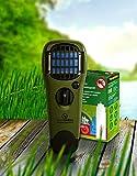 ThermaCell Sorglos Paket 60 Stunden Mückenschutz im Set Handgerät olivgrün mit Kippschalter MR-GJ...