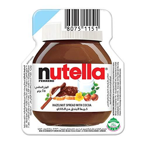 Nutella Nutella 15 gr kartontray nutella 120 pcs