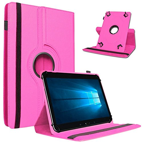 Nauci Odys Wintab Ares 9 Hülle Tablet Tasche Schutzhülle Universal Hülle Schutz Cover Bag, Farben:Pink