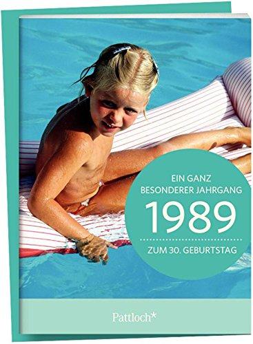 1989 - Ein ganz besonderer Jahrgang - Zum 30. Geburtstag: Jahrgangs-Heftchen mit Kuvert