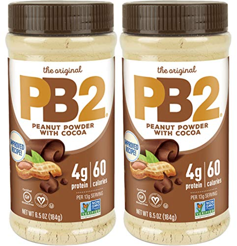 PB2  Bell Plantation Powdered Chocolate Peanut Butter 65oz pack of 2