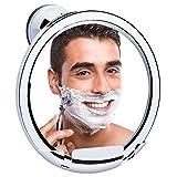 KEDSUM Fogless Shower Mirror, No Fog Bathroom Mirror with Razor...