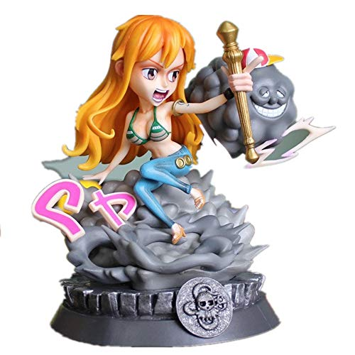 No logo JoJiJo Neu Einteilige Figur Nami Figur Zeus Style Anime Figur Action Figur