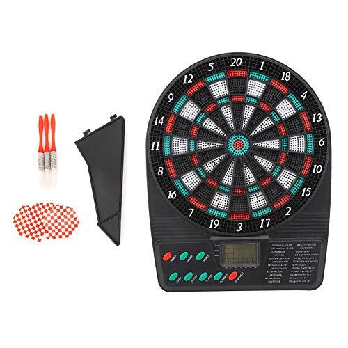 Nannday 26x20x3cm Automatisches Scoring-Ziel Elektronische Dartscheibe Mini Safe Game Toy Dartscheibe Family Bar für Freizeitunterhaltung