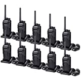 Case of 10,Retevis RT27 2 Way Radio Rechargeable,Military Standard Two-Way Radio Long Range,Walkie Talkie Adult,VOX Scan,for Business Construction Retail