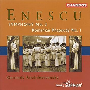 Enescu: Symphony No. 3 / Romanian Rhapsody No. 1