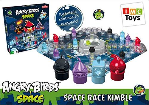 IMC Toys Juego Action Space Race Angry Birds , Juego de Mesa Infantil/Juvenil