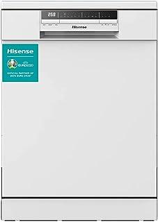 Hisense HS60240W - Lavavajillas, Capacidad para 13 servicios, de 60 cm, 6 Programas, bajo nivel sonoro, 2 Cestas, Filtro a...