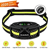 Nemobub Dog Shock Collar 1600ft Remote Training and 100% Waterproof Rechargeable Shock Collar with Beep Vibration and Electric Dog Collar Dogs