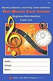VM12 - One-Minute Sight Singer - Beg./Int. Treble Clef