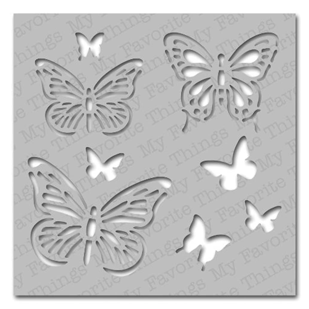 My Favorite Things Mix-ables Stencil, 6 by 6-Inch, Winged Beauties