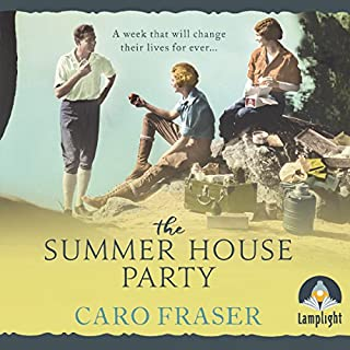 The Summer House Party audiobook cover art