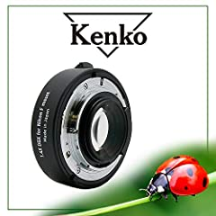 Increases focal length from same camera position by 1. 4x Professional quality optics with multi-layer anti-reflection coatings Compatible with proprietary lenses from Nikon Precision-engineered in Japan Tele converter is designed to be used with tel...