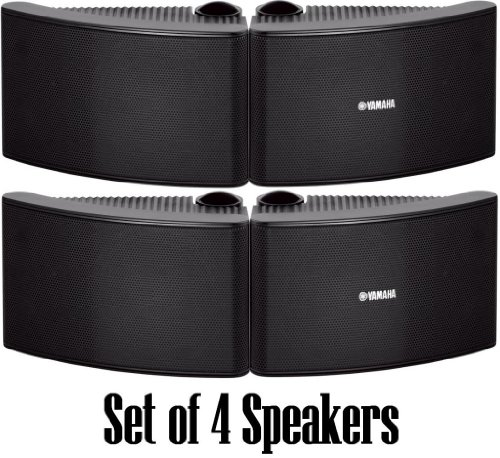Learn More About Yamaha All Weather Outdoor / Indoor Wall Mountable Natural Sound 180 watt 2 way Aco...