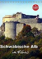 Schwaebische Alb im Fokus (Tischkalender 2022 DIN A5 hoch): Impressionen einer Kulturlandschaft (Geburtstagskalender, 14 Seiten )