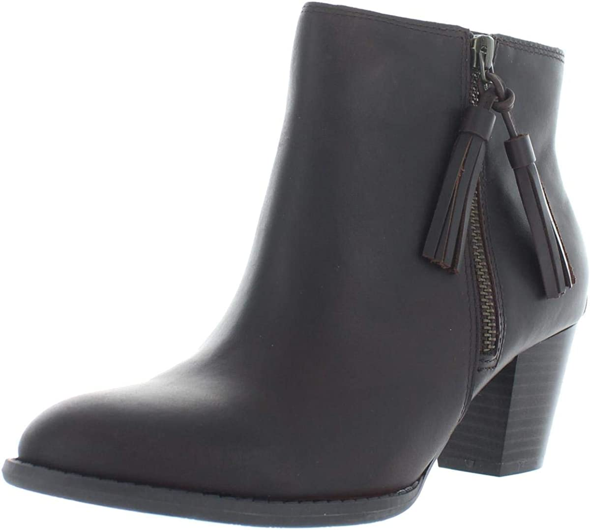 Womens Cushion Walk Grey Louise Zip Up Mid Heel Ankle Boots Various Sizes