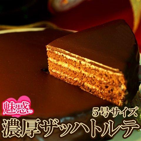 魅惑の濃厚ザッハトルテ 5号サイズ (SM00010095)