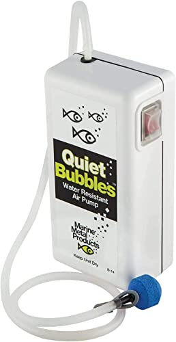 high quality Marine Metal Aerator Quiet Bub 1.5V 33 Hrs outlet online sale W/2 'D' wholesale Battery online sale
