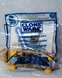 McDonald's Happy Meal 2010 Star Wars The Clone Wars Commander cody # 7 Skateboard Toy