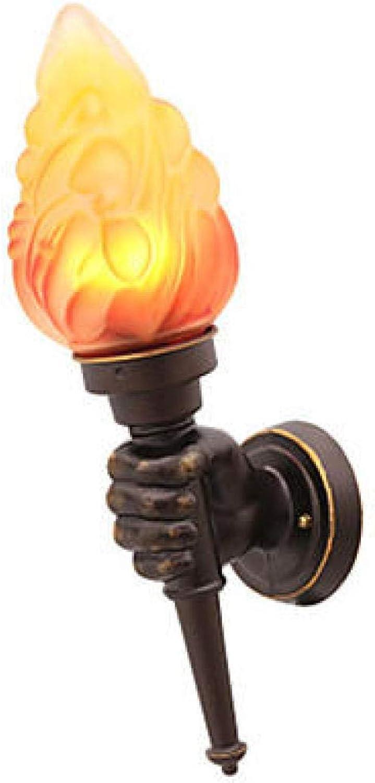 Niedliche Vintage Wandlampe und Kerzenstnder Garten Korridor Metallwandlampe