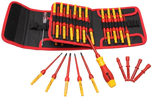 RUWOO Z02050 1000V VDE 50-Piece Insulated Changeable Screwdriver Set