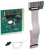 LEAGY 4-stellige PCI ISA-PC-Motherboard Analyzer Tester Debug-Karte mit externer für PC