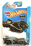 Hot Wheels 2015 HW City Batmobile Black Chrome/Yellow Trim #62/250