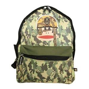 51X1ysmHfxL. SS300  - Paul Frank - Bolso Bandolera Hombre Niños Mujer Unisex Adulto Niños Unisex Verde Backpack