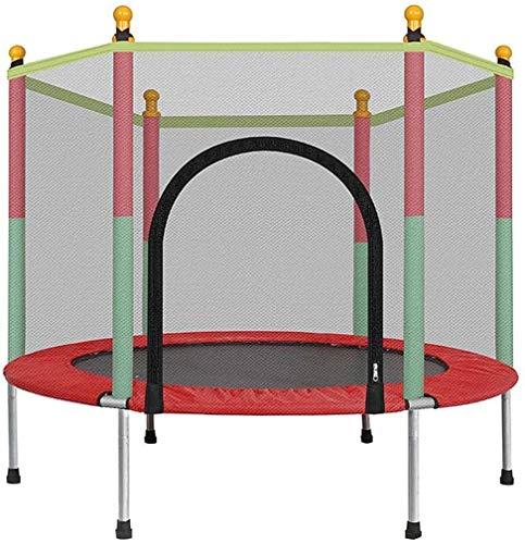 HOTDESIRE Kinder Trampoline Runde Mute Fitness Sicherheit Mesh-Trampolin Kinderbett Möbel Baby Mobile Park Kinder Indoor Spielplatz