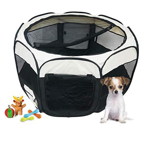 classement un comparer Todeco – Parc pour chiots, enclos pour petits animaux – Matériau: polyester, revêtement PVC -…
