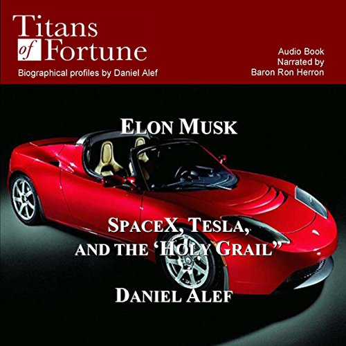 Elon Musk audiobook cover art