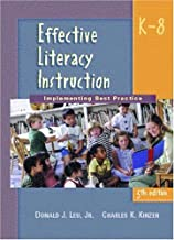 Effective Literacy Instruction, K-8: Implementing Best Practice
