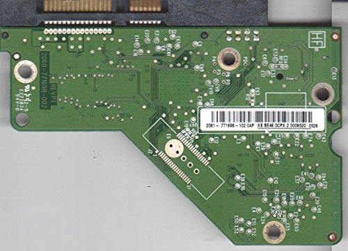 WD20EARS-00MVWB0, 2061-771698-102 04P, REV P1, WD SATA 3.5 Leiterplatte (PCB)