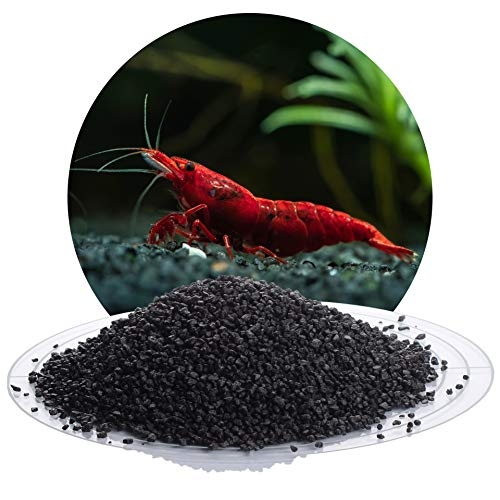 Schicker Mineral Schwarzer Aquariumsand Aquariumkies 2-3 mm, 25 kg Sack, farbecht, Salzwasser und Süßwasser geeignet, kantengerundet