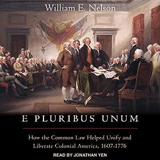 E Pluribus Unum audiobook cover art