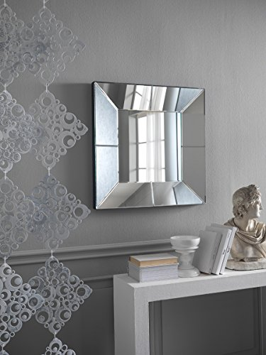 Stones SP/017 Specchio da Parete, MDF, 81x81x7 cm