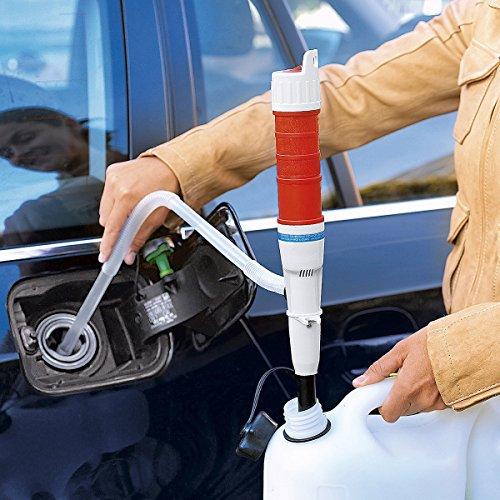 Pump Profi, Pumpe mit Schlauch | Ölpumpe Wasserpumpe Benzinpumpe, abpumpen tropfenfrei, Schlauch Ø 1,5 cm