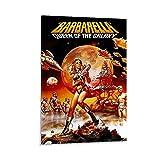 Vintage-Film-Poster, Barbarella, Königin der Galaxie,