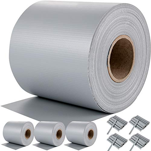 VEVOR PVC Pantalla de Privacidad, 4 Rollos 65 m x 19 cm...