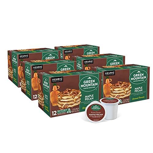 Green Mountain Coffee Roasters Maple Pecan, Single-Serve Keurig K-Cup Pods, Flavored Light Roast Coffee, 72 Count