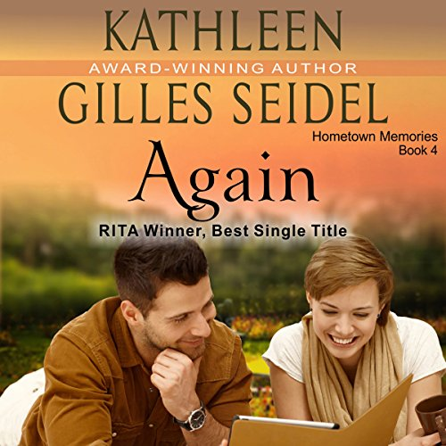 Again audiobook cover art