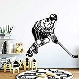 Tianpengyuanshuai Hockey sobre Hielo Familia Etiqueta de la Pared Arte extraíble Etiqueta de la Pared decoración 85X102cm