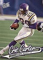 Football NFL 1997 Fleer Ultra #146 Cris Carter #146 NM Vikings